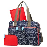 Orla Kiely for Target Stem Flower Print Diaper Bag - Navy/White