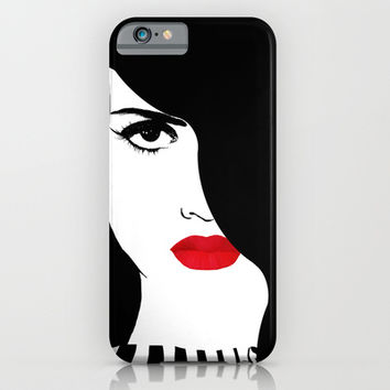 Francesca, original Fashion art iPhone & iPod Case by Tina Lavoie's Glimmersmith