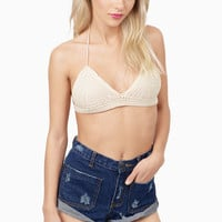 Nikita Crochet Bra Top $32