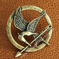The Hunger Games pin, The Hunger Games brooch, Inspired Mockingjay brooch, SALE