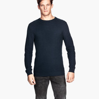 H&M Textured-knit Sweater $34.95