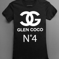BLACK Glen CoCo Chanel - Womens Tshirt