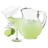 Cancun Margarita Pitcher and Glasses- Set of 7