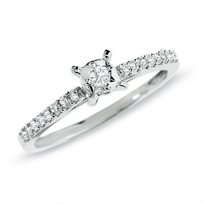 1 5 ct t w promise ring in 10k from zales epic