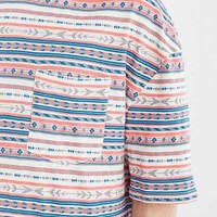 Koto Oversized Jacquard Stripe Tee - Urban Outfitters