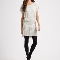 Theory - Denatria Ruched Dress - Saks.com