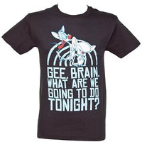 Take Over Men&#x27;s Pinky And The Brain T-Shirt : TruffleShuffle.com