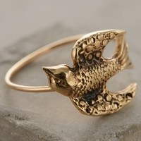 Sweeping Swallow Ring by Workhorse Gold
