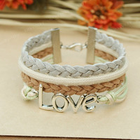 Love Bracelet-Love fashion bracelet-Gift for girl friend or boy friend