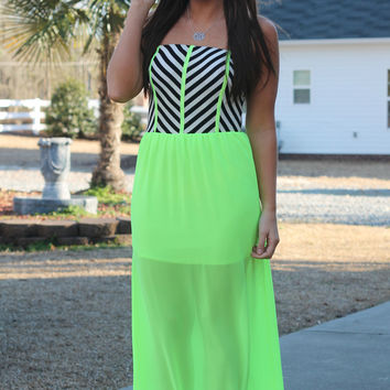 Just Showin' Off Maxi: Highlighter Yellow
