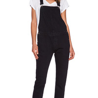 NEUW Sister Ray Overall in Black