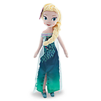 Elsa Plush Doll - Frozen Fever - Medium - 20''