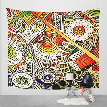 All Seeing Wall Tapestry by DuckyB (Brandi)