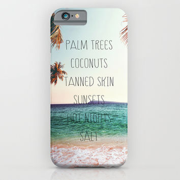 Summer Days, Hot Nights. iPhone & iPod Case by Sara Eshak