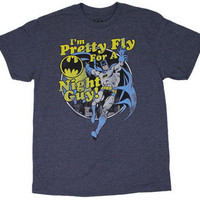 Pretty Fly For A Night Guy! - Batman - DC Comics T-shirt - MyTeeSpot - Your T-shirt Store