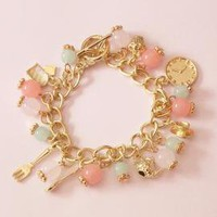 Tea Time Charm Bracelet | Sincerely Sweet Boutique