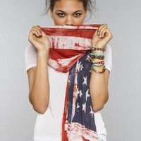 American Flag Scarf