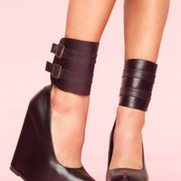 Zeke Platform Wedge - NASTY GAL