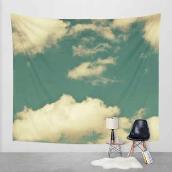 sky, clouds, dreams... Wall Tapestry by VanessaGF
