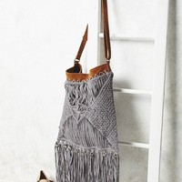 Free People Cascading Fringe Crossbody