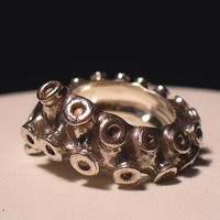 Tentacle Ring by OctopusMe $220