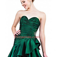 Lovely Sweetheart Layer Skirt Dress With Ruched Bodice [110435] - $175.22 : Dressesau.com, Prom Dresses,Wedding Dresses Shop