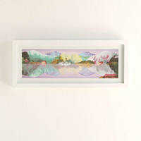 Kate Shaw Salvation Mountain Framed Art - Urban Outfitters