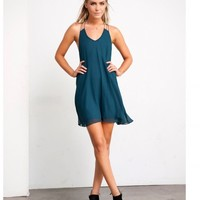 CHAINED UP SLIP DRESS