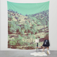 The Hills Wall Tapestry by DuckyB (Brandi)