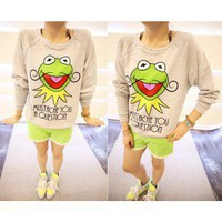 Mustache Kermit Jumper - the85stylePeople