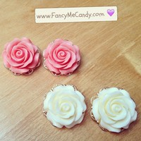 Pretty Rose Studs from Fancy Me Candy