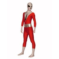Full Body Red and White Lycra Spandex Back Zipper Unisex Zentai Suit [TWL111228011] - £24.19 : Zentai, Sexy Lingerie, Zentai Suit, Chemise