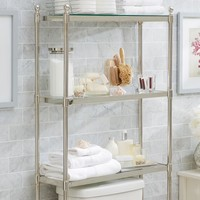 Metal Over-the-Toilet Etagere