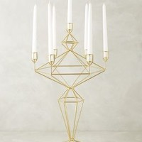 Oblique Candle Holder by Anthropologie