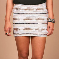 Glimmering Sands Skirt | Trendy Skirts at Pink Ice