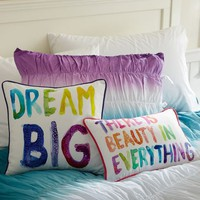 Paint Pallette Pillow Cover