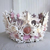 Crafts  and DIY / shell crowns | Flickr - Photo Sharing!