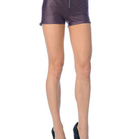 Zipper Shorts | Sexy Clothes Womens Sexy Dresses Sexy Clubwear Sexy Swimwear | Flirt Catalog