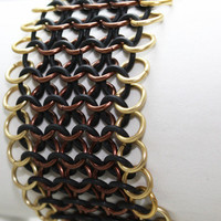 Gold, Bronze & Black Bracer