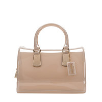 FURLA CANDY SATCHEL MARBLE