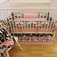 Crib Bedding MADE TO ORDER Baby Girl Bedding