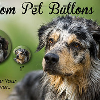 Make A Button 2.25 Inch Custom Pet Button