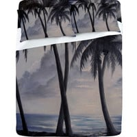 DENY Designs Home Accessories | Rosie Brown Sunset Palms Sheet Set