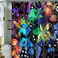 DENY Designs Home Accessories | Holly Sharpe Lost In Botanica 2 Shower Curtain