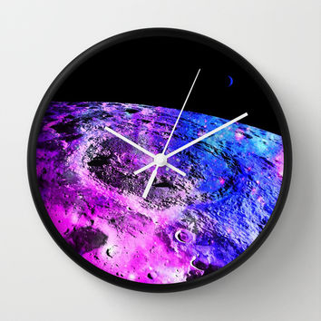 PLAnet Wall Clock by 2sweet4words Designs
