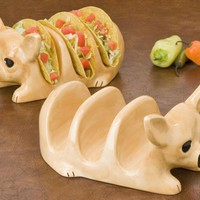 Tito Chihuahua Taco Holder Set | Overstock.com