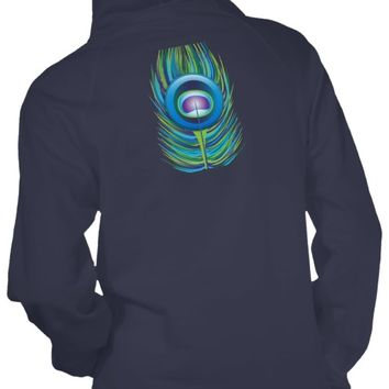 Peacock Feather Women's Hoodie