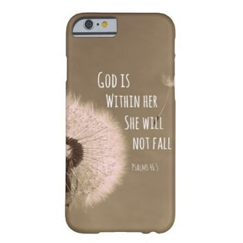 Bible Verse: God is within her, she will not fall