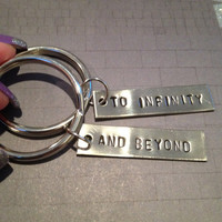 To infinity.. And beyond - Friendship Keychains