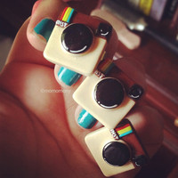 Super Kawaii Instagram APP Ring